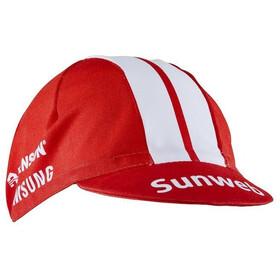 Craft Team Sunweb Hovedbeklædning rød/hvid